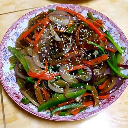 日式炒杂菜