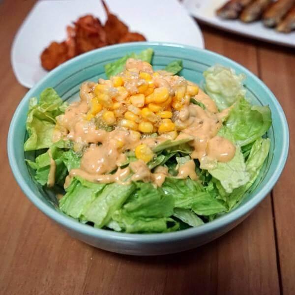 芥味玉米沙拉