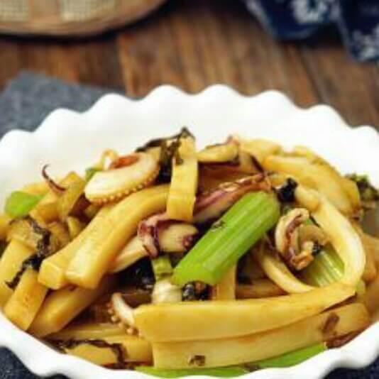 芹菜炒年糕