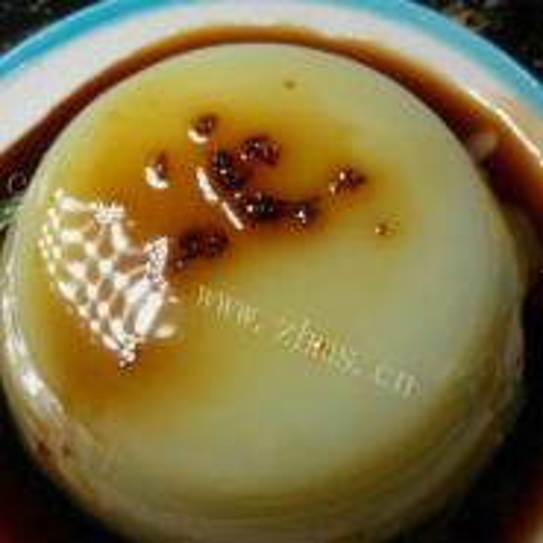 椰汁绿豆凉糕
