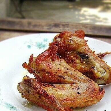 自制烤鸡翅膀