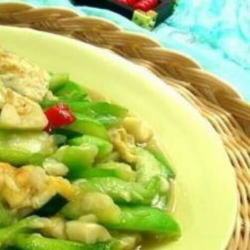 丝瓜炒土豆