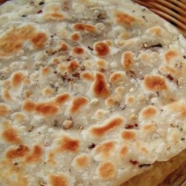 自制烫面花椒饼