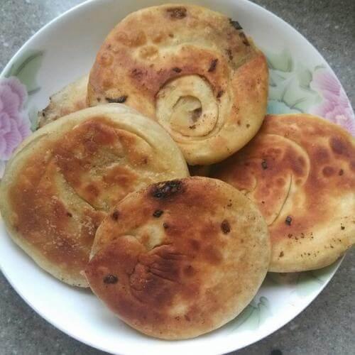 冬菇牛肉饼