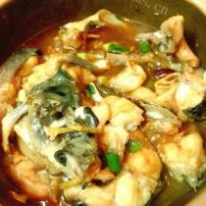 青椒炒塘虱鱼