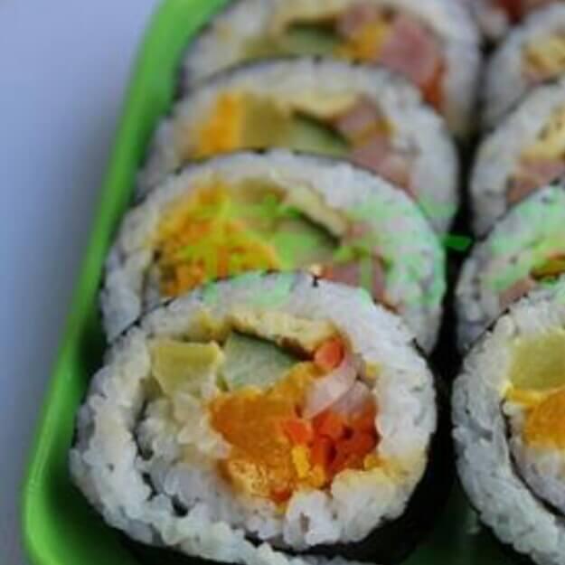 糯米紫菜卷