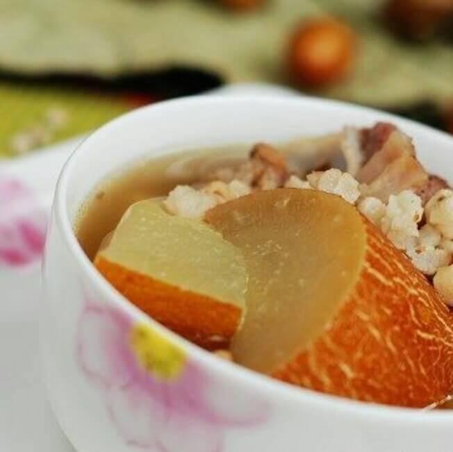 老黄瓜薏米汤
