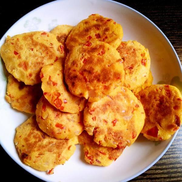 山药薏米豆渣饼