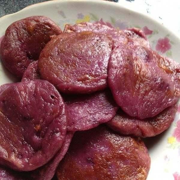 微波奶香紫薯干