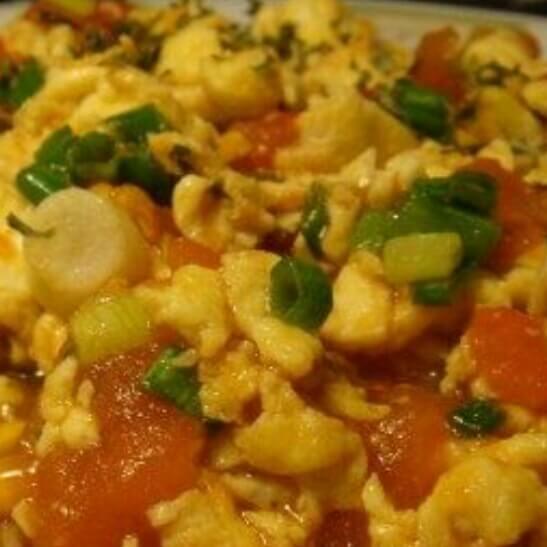 西红式炒蛋