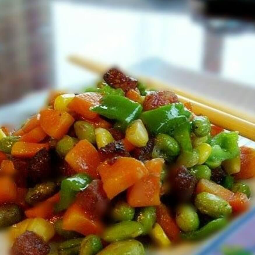 五彩粒粒菜