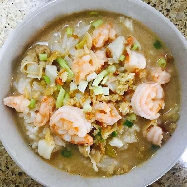 台式竹笋海鲜汤泡饭