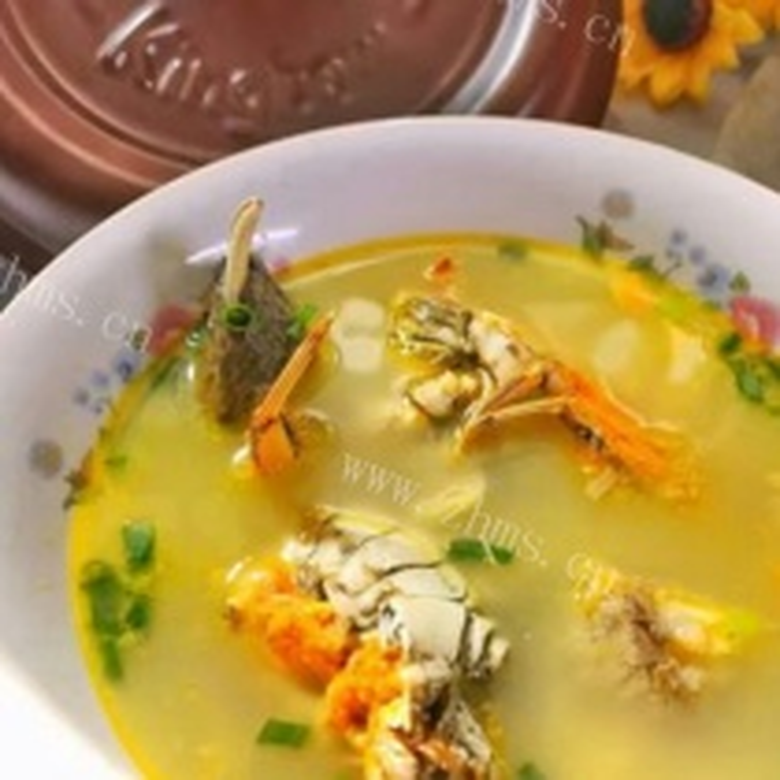 螃蟹鲫鱼汤