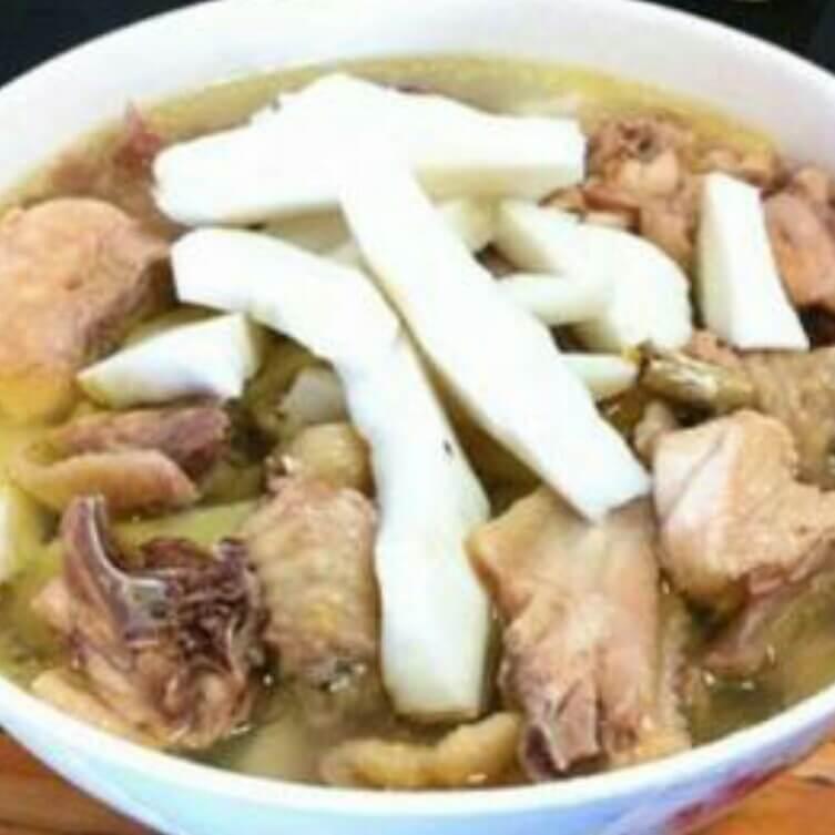椰子香茅鸡汤