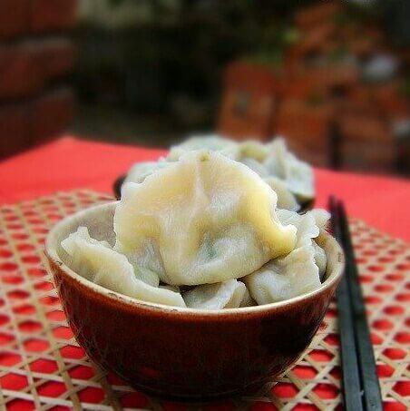鲜扇贝饺子