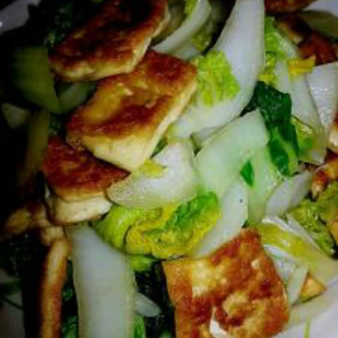 家常菜腐乳黄心菜