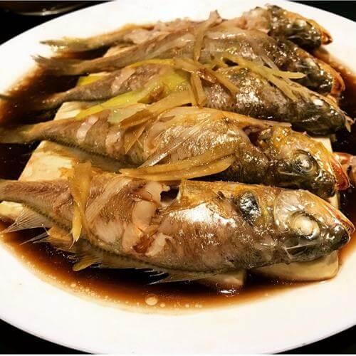 剁椒豆豉蒸黄鱼
