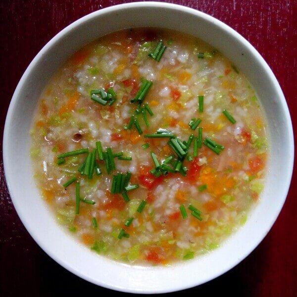 排骨蔬菜粥
