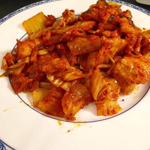 韩式泡菜五花肉