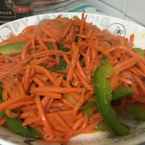 清炒红萝卜