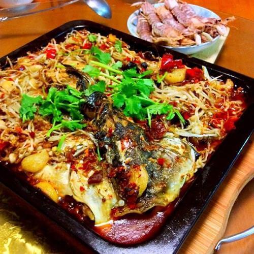 简易版川味烤鱼