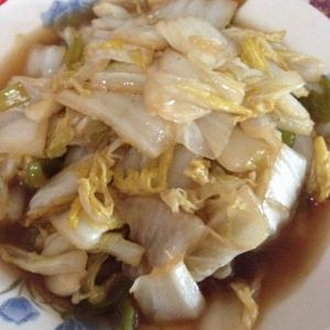 最平民的菜-醋溜大白菜