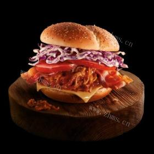 照烧猪肉堡