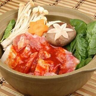 极鲜韩式泡菜锅