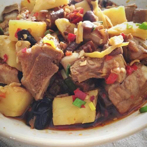 剁椒香菇鸡
