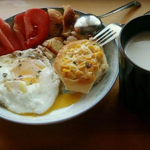时尚西式早餐