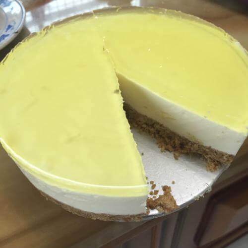 冻柠檬芝士蛋糕