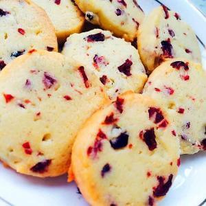 蔓越莓方圆饼干