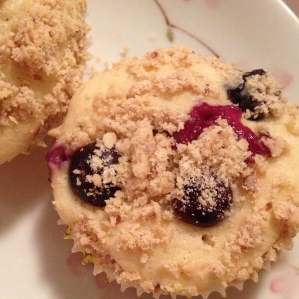 酸奶蓝莓玛芬