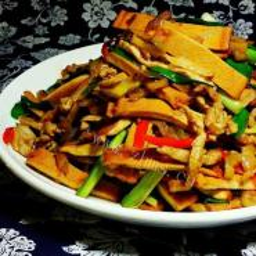 香干炒榨菜