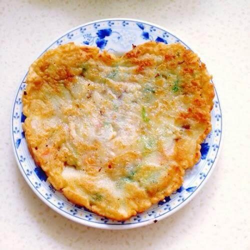 香煎蔬菜饼