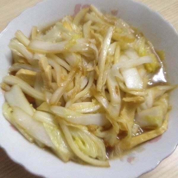 火鸭白菜丝
