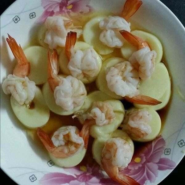 鸡蛋酥脆虾