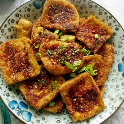 美味的铁板豆腐