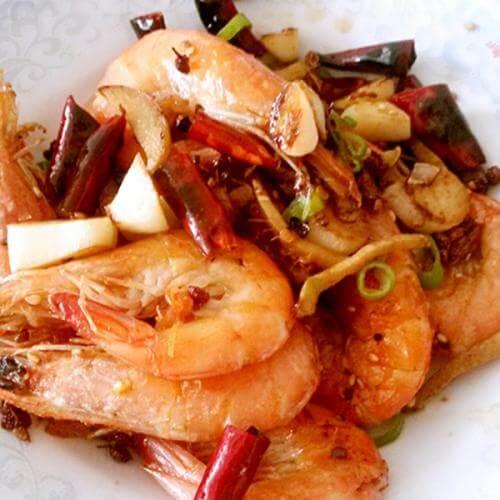 美味香辣虾