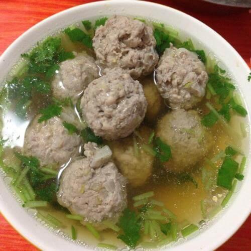 荸荠丸子汤