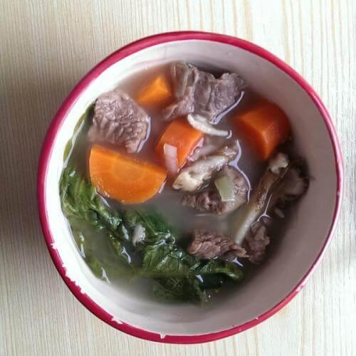 无花果红萝卜牛肉汤