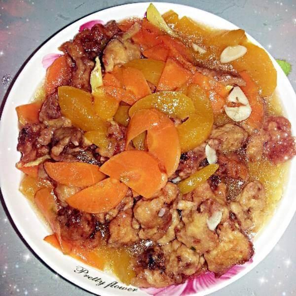 东北黄桃锅包肉