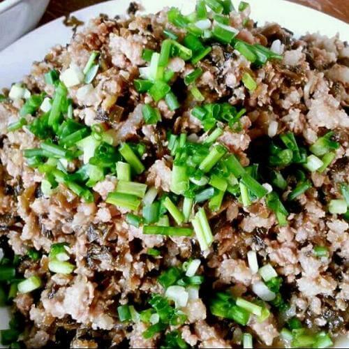 芽菜炒笋尖