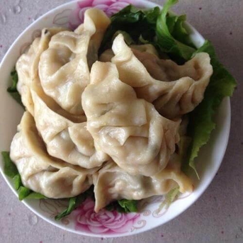 猪肉白菜韭菜饺子