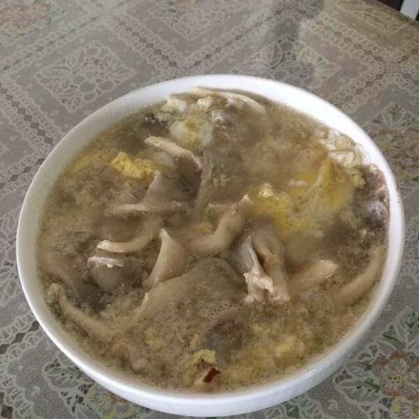 蘑菇虎牌汤