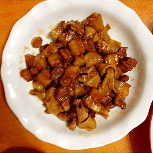 红烧肉豆腐扣