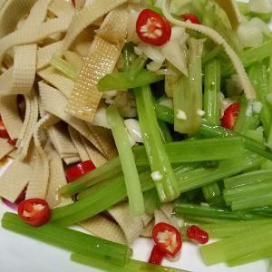 豆腐皮炒芹菜