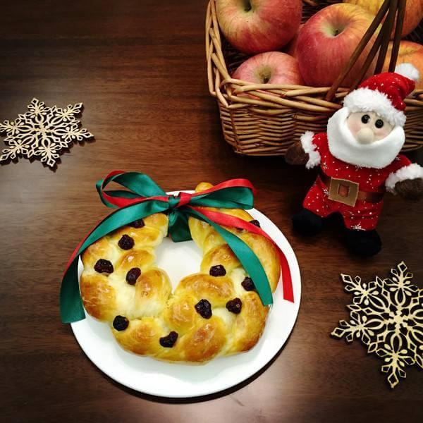 圣诞水果面包