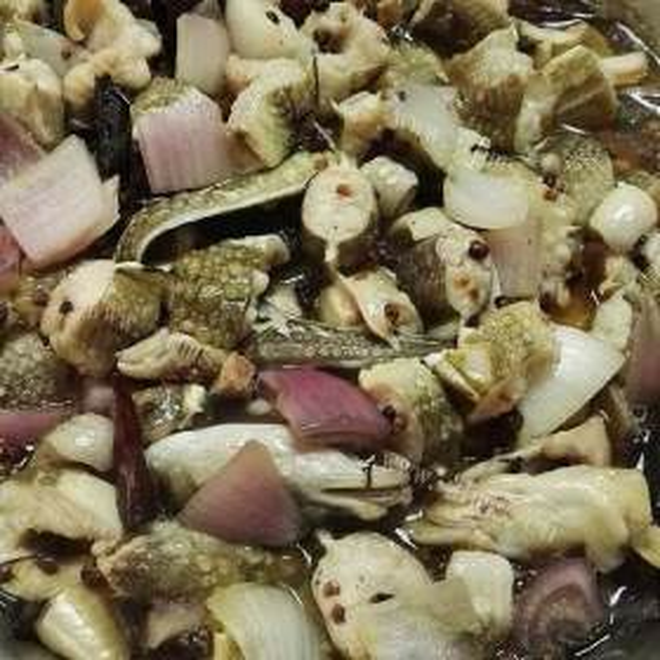 清蒸海鳗鱼