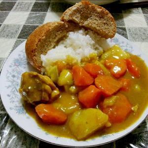 东北田园栗子鸡肉饭